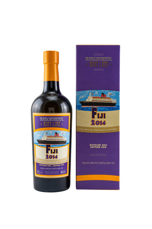 Fiji 2014 Line #23 High Ester Transcontinental Rum Line TCRL 48% vol. 700ml
