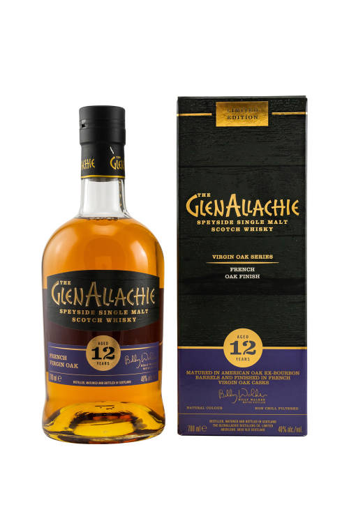 GlenAllachie 12 Jahre French Oak Wood Finish 48% vol. 700ml