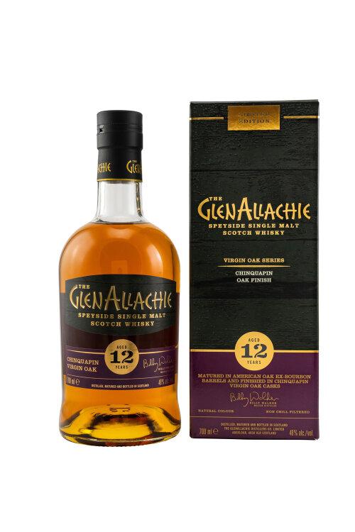 GlenAllachie 12 Jahre Chinquapin Oak Finish 48% vol. 700ml
