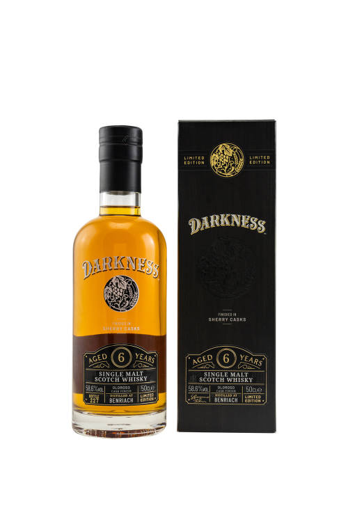Benriach 6 Jahre Darkness Octave 11178/268 Oloroso Cask...