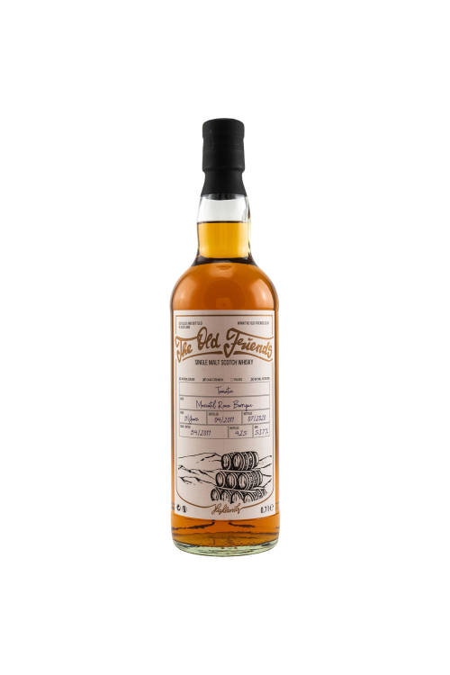 Tomatin 2011/2020 The Old Friends (TOF) Moscatel Barrique #94 53,7% vol. 700ml