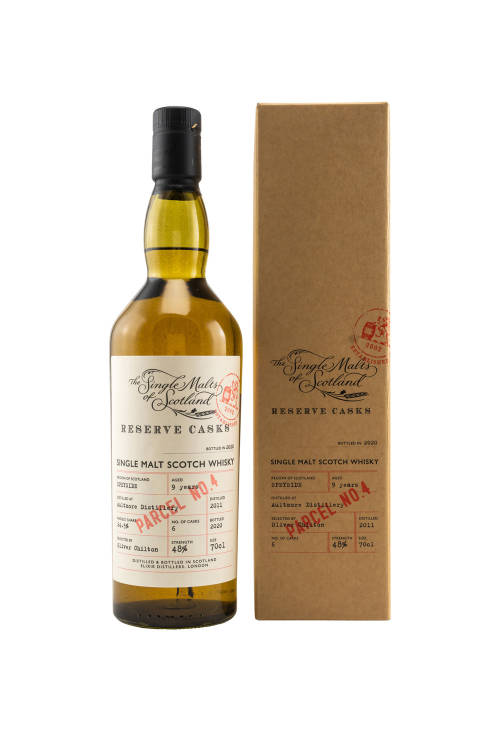 Aultmore 2011 Reserve Cask Parcel 4 Single Malts of...
