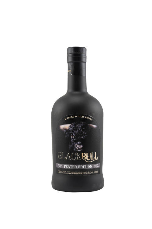 Black Bull Peated Blended Scotch Whisky 50% vol. 700ml