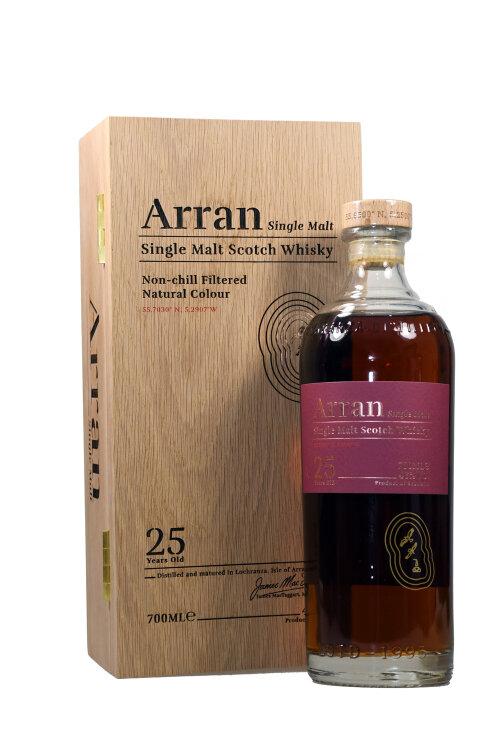Arran 25 Jahre Single Malt Scotch Whisky 46% vol. 700ml