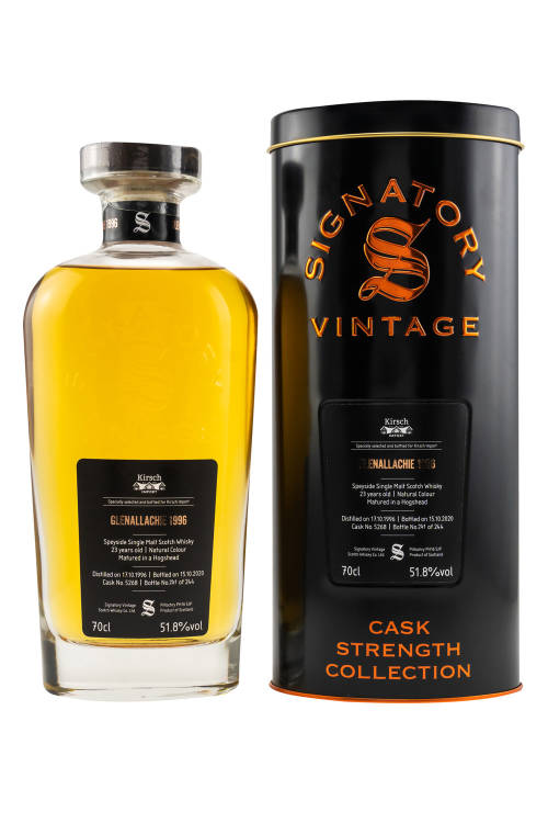 Glenallachie 1996/2020 SV Cask Strength #5268 Kirsch 51,8% vol. 700ml
