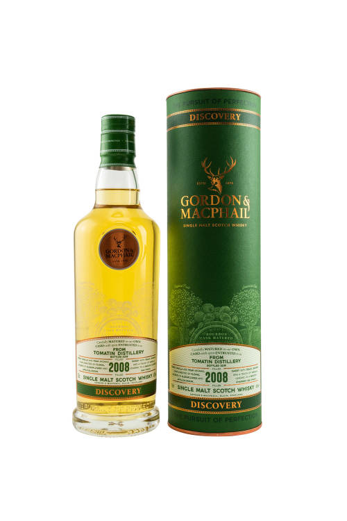 Tomatin 2008/2019 Gordon & MacPhail Discovery New Range 43% vol. 700ml