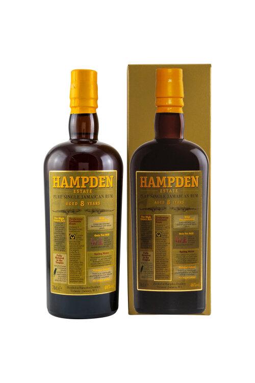 Hampden Estate Pure 8 Jahre Single Jamaican Rum 46% vol. 700ml