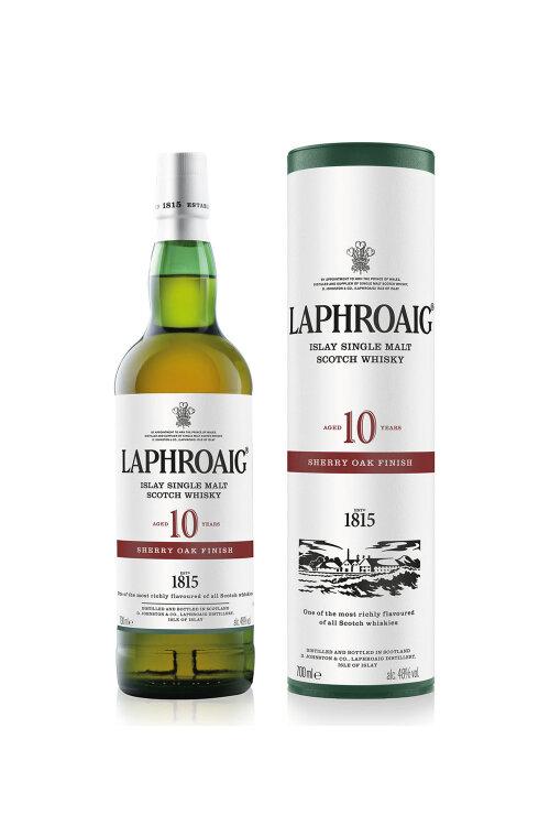 Laphroaig 10 Jahre Sherry Oak Finish 48% 700ml