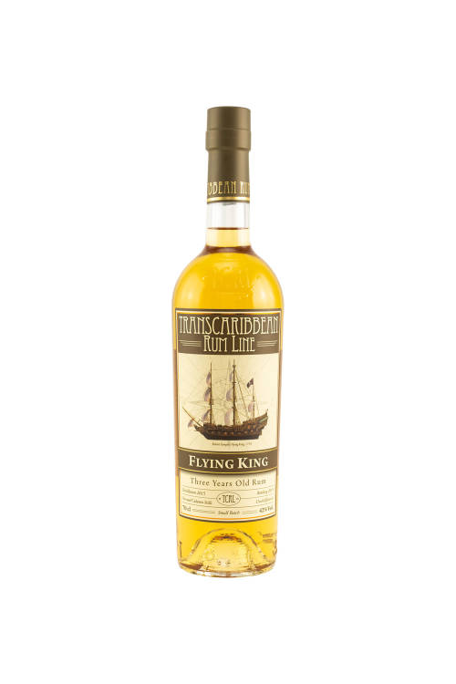 Flying King Small Batch Transcontinental Rum Line TCRL by LMDW 42% vol. 700ml
