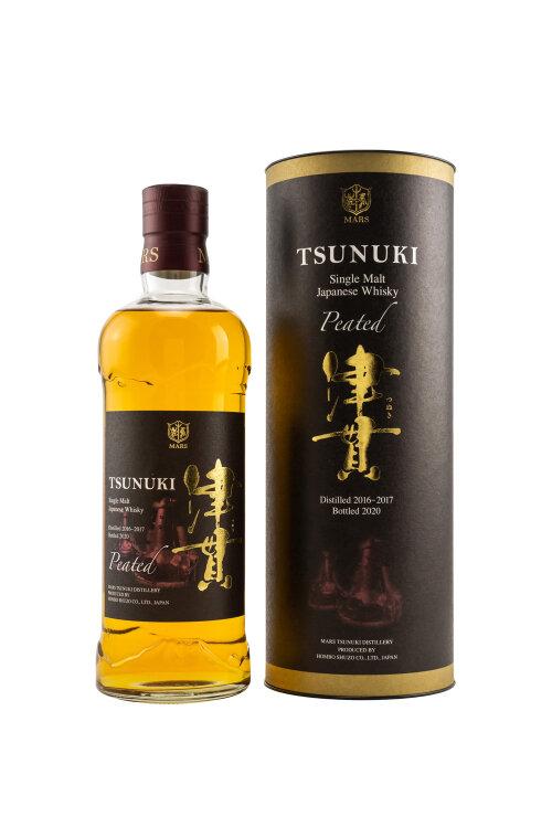 Mars Tsunuki Peated Limited Edition 2020 Single Malt Japanese Whisky 50% vol. 700ml