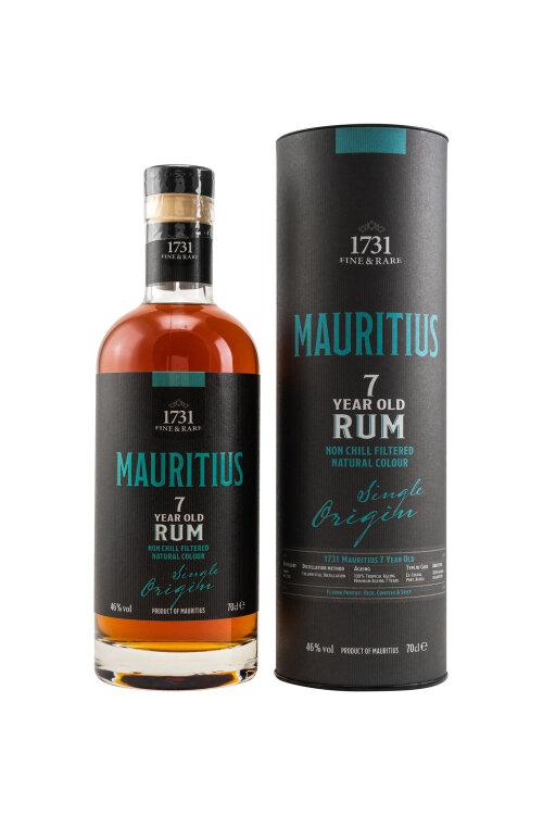 1731 Fine & Rare Mauritius (Grays Inc. Ltd) 7 years old Rum 46% vol. 700ml