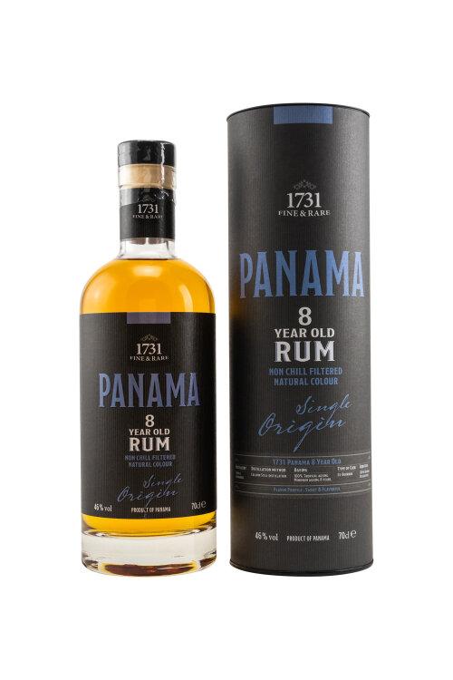 1731 Fine & Rare Panama (Varela Hermanos) 8 years old Rum 46% vol. 700ml