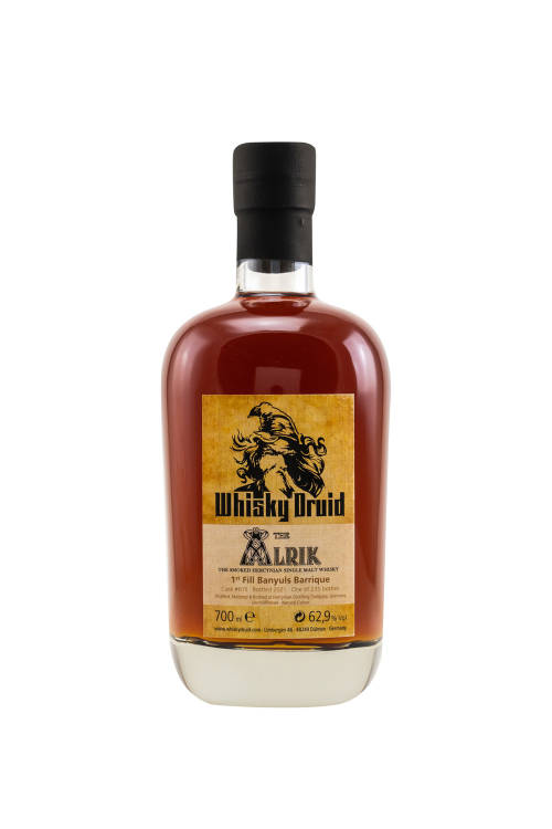 Hercynian The Alrik 1st Fill Banyuls Barrique #615 Whisky Druid 62,9% vol. 700ml