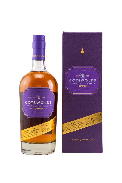 Cotswolds Sherry Cask English Single Malt Whisky 57,4% vol. 700ml