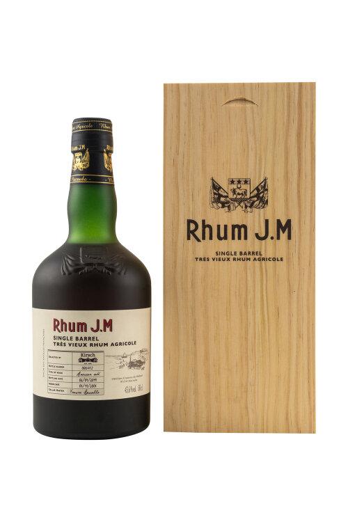 Rhum J.M Single Barrel 2004/2019 14 Jahre for Kirsch Rum 43,6% vol. 500ml