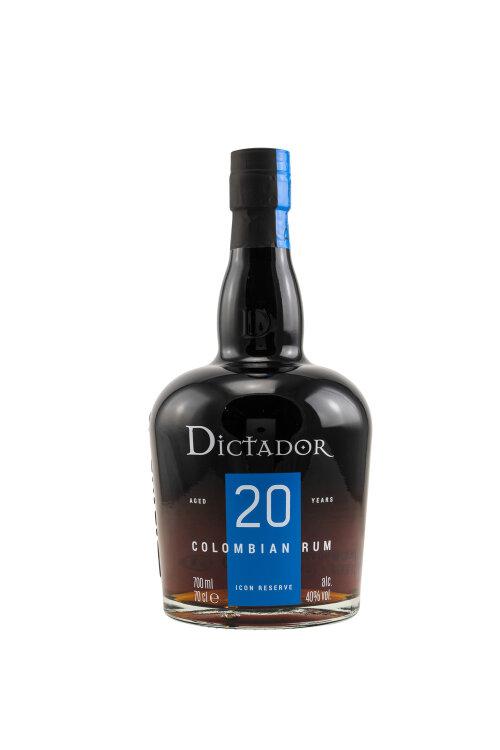 Dictador 20 Jahre Icon Reserve 40% vol. 700ml