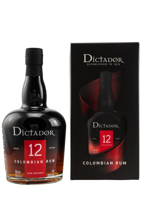 Dictador 12 Jahre Icon Reserve 40% vol. 700ml