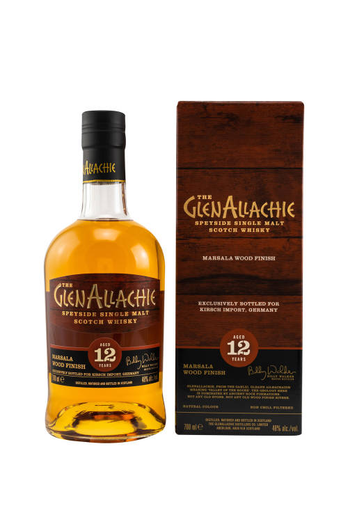 GlenAllachie 12 Jahre Marsala Wood Finish 48% vol. 700ml