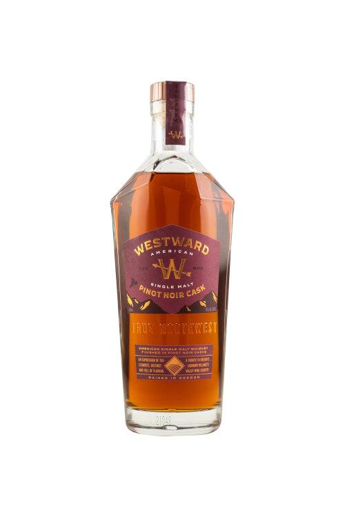 Westward American Single Malt Whiskey Pinot Noir Finish 45% vol. 700ml