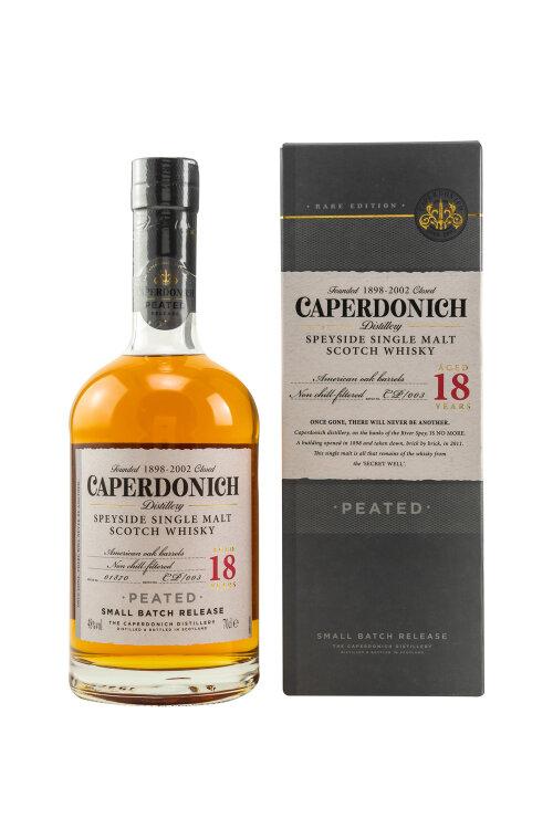 Caperdonich 18 Jahre Small Batch Peated 48% vol. 700ml