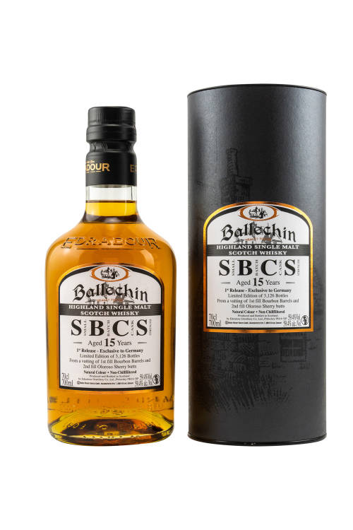 Ballechin SBCS 15 Jahre Small Batch #1 Cask Strength 59,4% vol. 700ml
