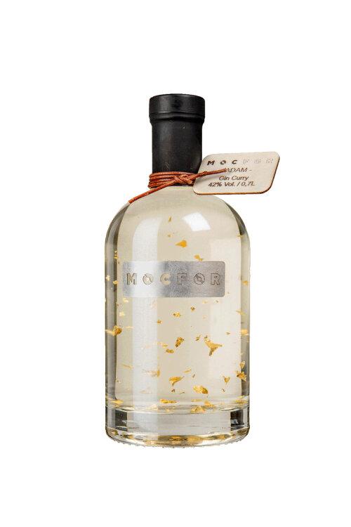 MOCFOR Gin Curry ADAM Gold Limited Edition Blattgold 42% vol. 700ml