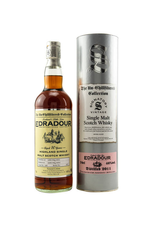 Edradour 2011/2021 SV The Un-Chillfiltered Collection Sherry Cask #188 46% vol. 700ml