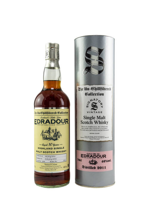 Edradour 2011/2021 SV The Un-Chillfiltered Collection Sherry Cask #244 46% vol. 700ml