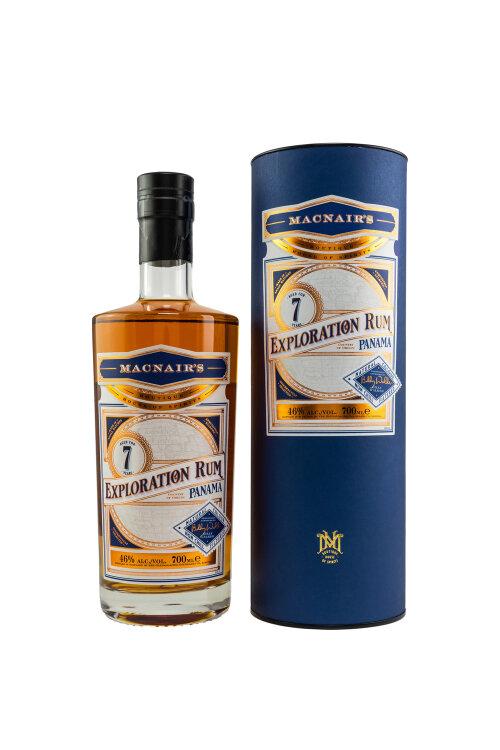 MacNair's Exploration Rum Panama 7 Jahre by Billy Walker 46% vol. 700ml