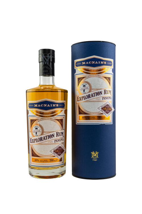 MacNair's Exploration Rum Peated Panama 7 Jahre by Billy Walker 46% vol. 700ml