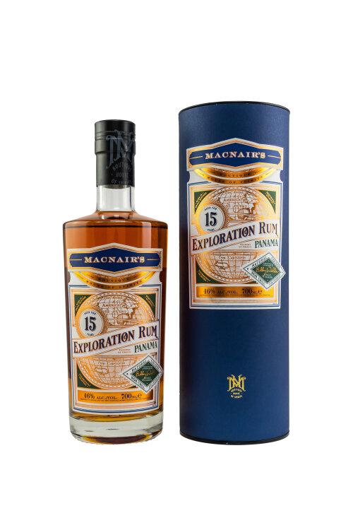 MacNair's Exploration Rum Panama 15 Jahre by Billy Walker 46% vol. 700ml