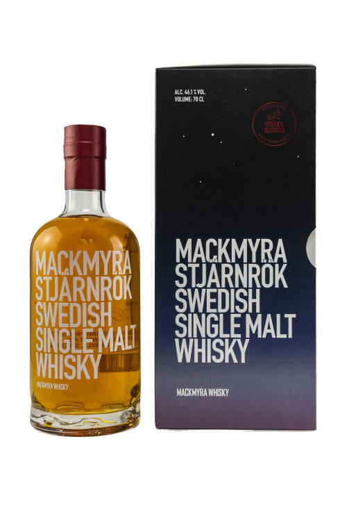 Mackmyra Stjärnrök Swedish Single Malt Whisky Smoke & Oloroso 46,1% vol. 700ml