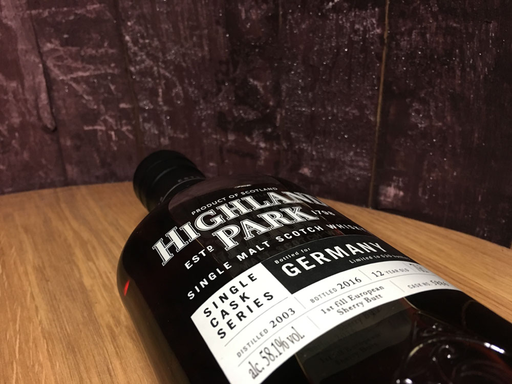 Highland Park Single Cask 5886