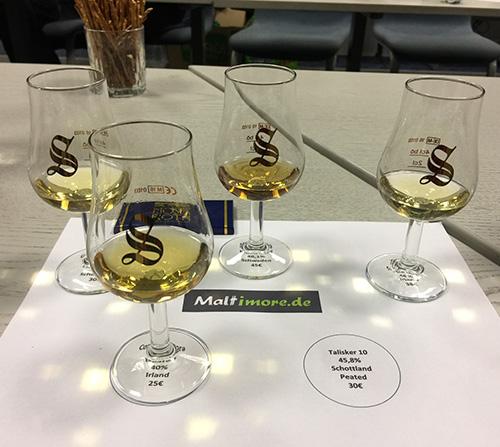 Whiskyverkostung in der Lausitz