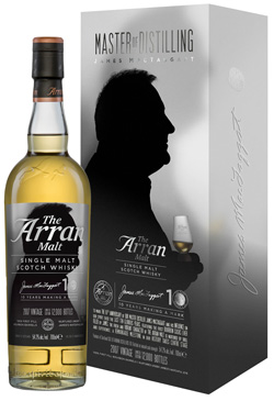 Arran James Mac Taggart 10th Anniversary Single Malt Scotch Whisky 54,2% vol.