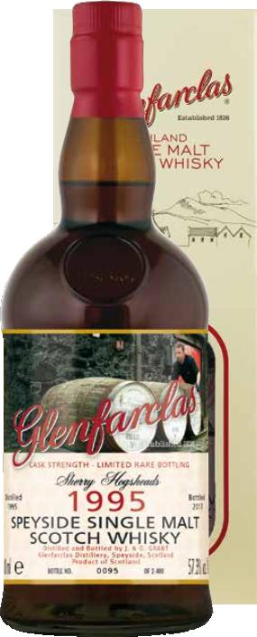 Glenfarclas 1995/2007 Cask Strength