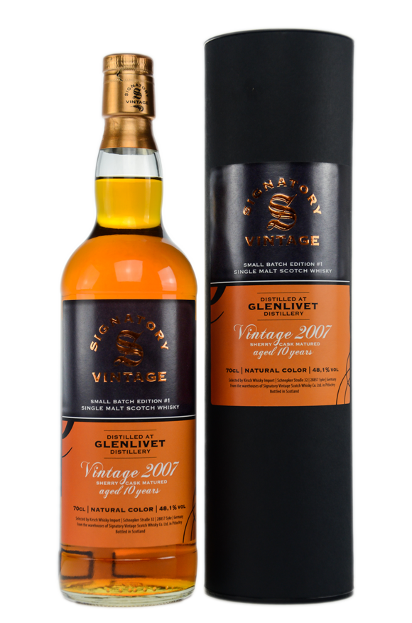 Glenlivet 2007/2018 Signatory Small Batch Edition #1