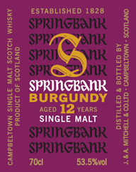 Springbank Burgundy Wood