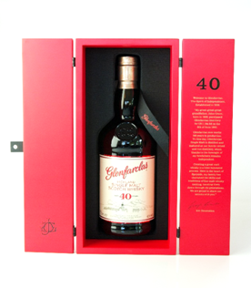 Glenfarclas 40 years warehouse edition
