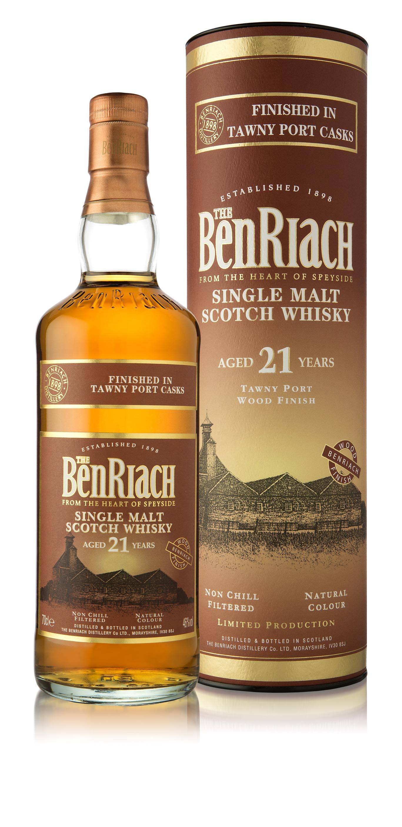 Benriach 21 Jahre Tawny Port Finish