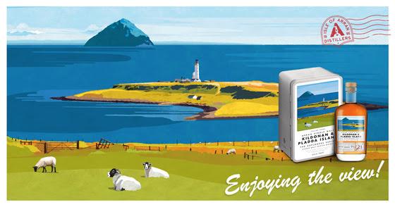 Arran Kildonan & Pladda Island The Explorers Series Vol.3